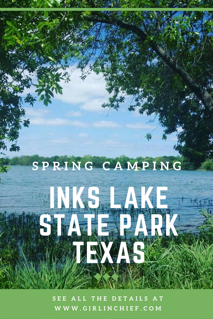 Spring Camping at Inks Lake State Park Texas