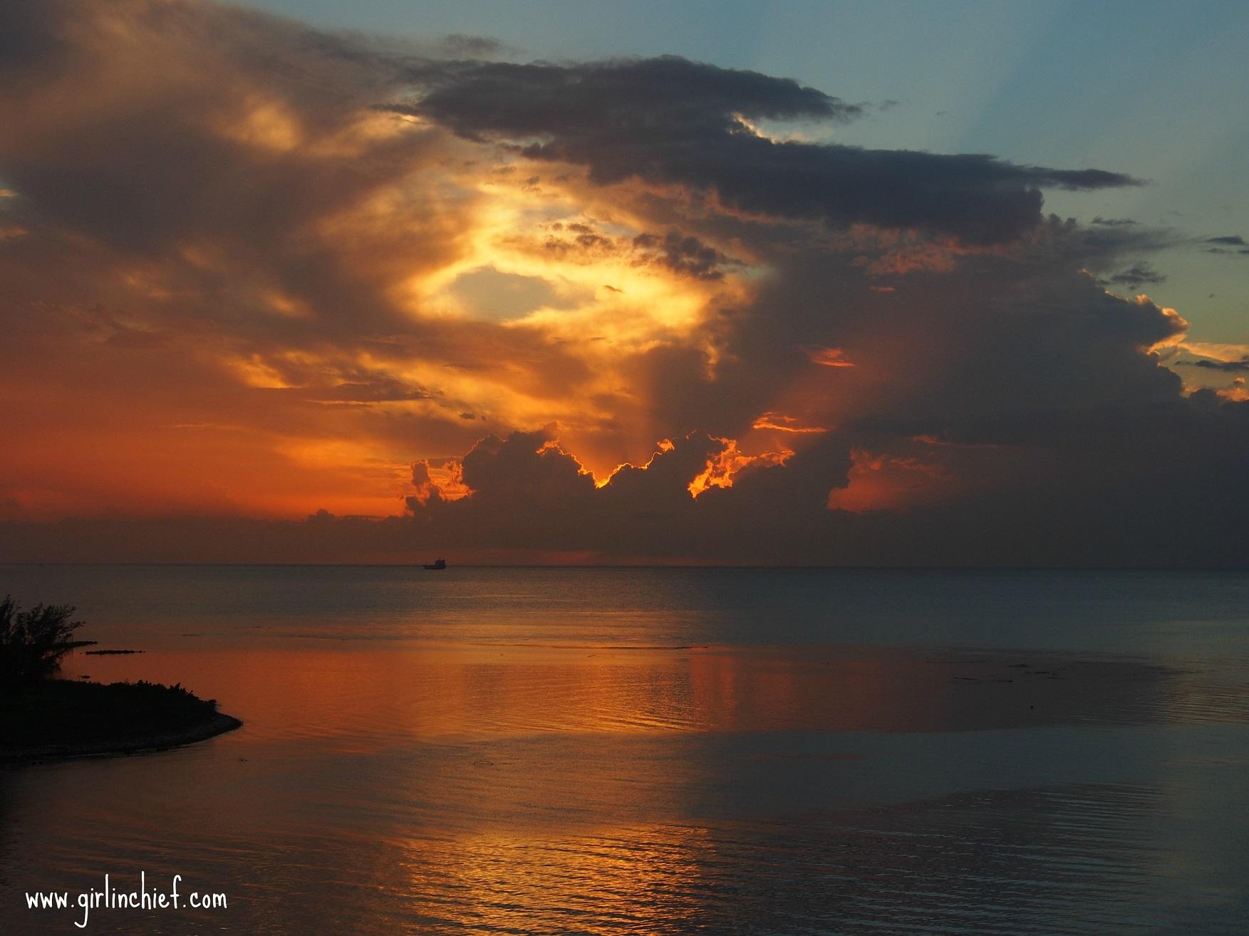 sunset-while-floating-past-montego-bay-jamaica