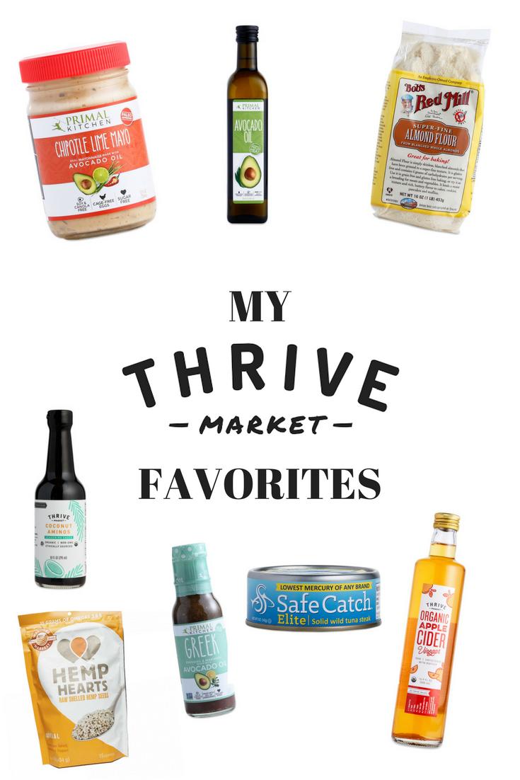 my-thrive-market-favorites