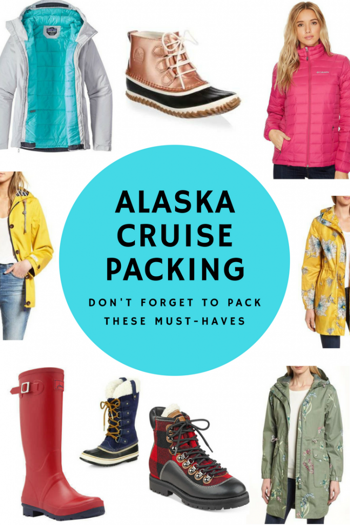 Alaska Cruise Packing: Don't Forget To Pack These 4 Must-Haves #alaska #cruise #alaskacruise #cruisetips #packing #alaskacruisepacking
