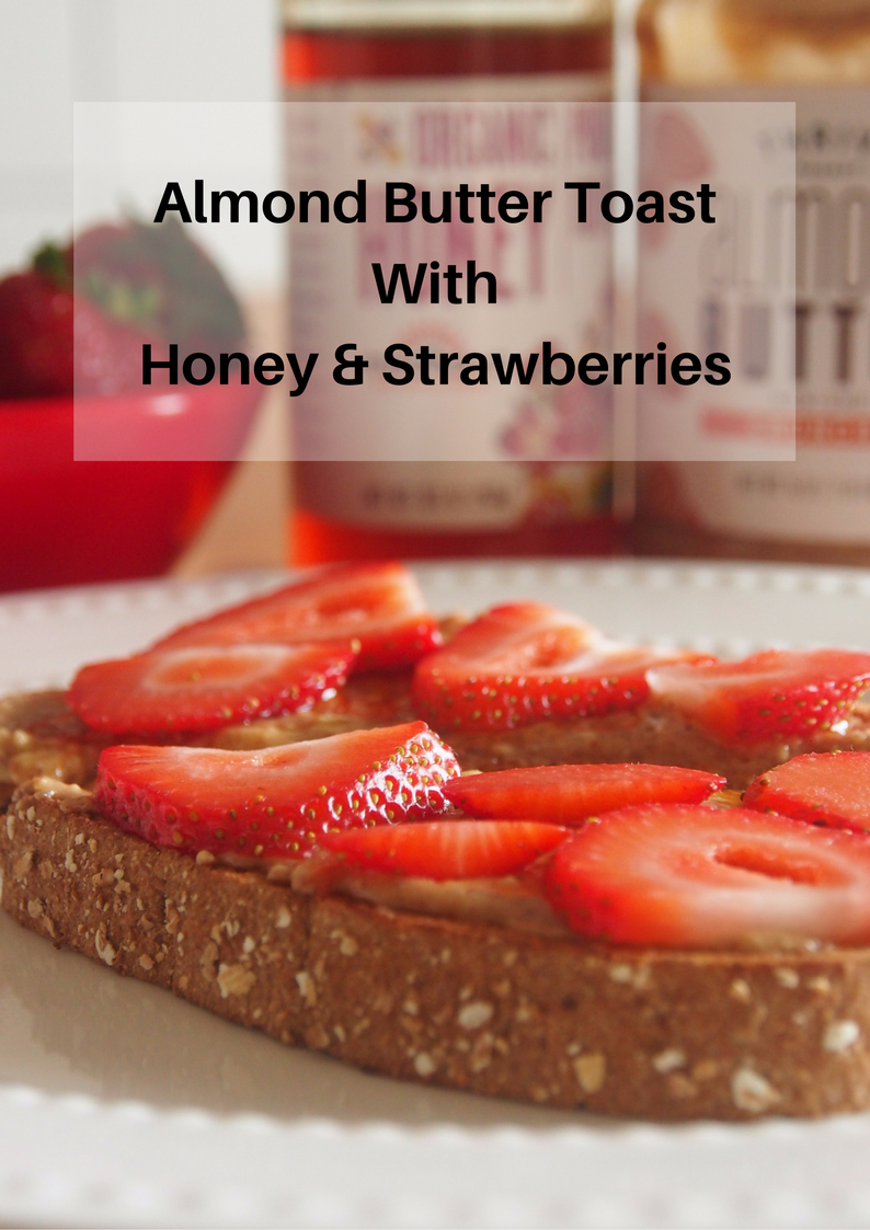 almond-butter-toast-with-honey-and-strawberries