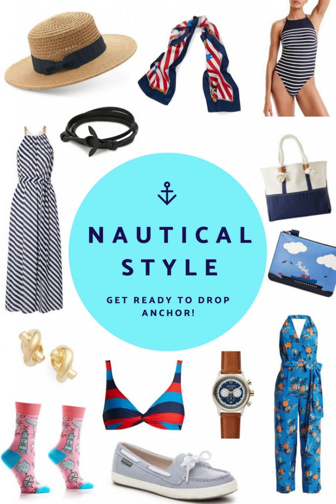 Cruise Fashion: Nautical Inspired Style #cruise #nautical #style #fashion #cruisefashion #shopping