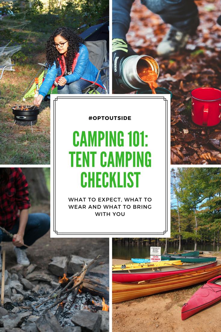 Camping 101: Tent Camping Checklist