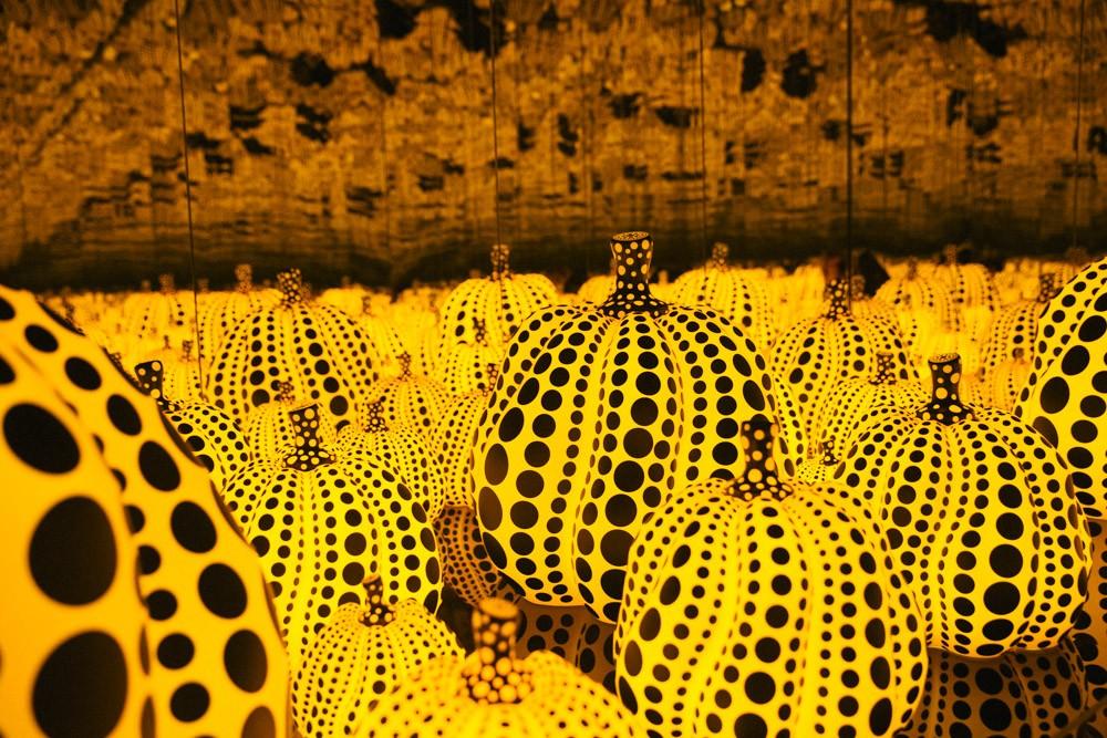 immersed-in-art-kusama-pumpkins-dallas-girlinchief