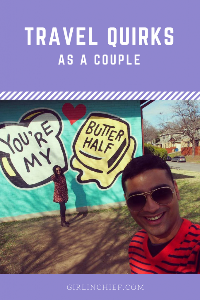 Travel Quirks as a Couple Who Travels Together