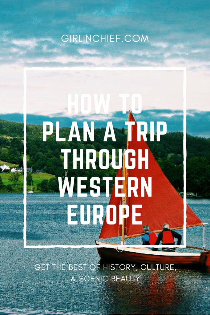 How to plan a trip through Western Europe