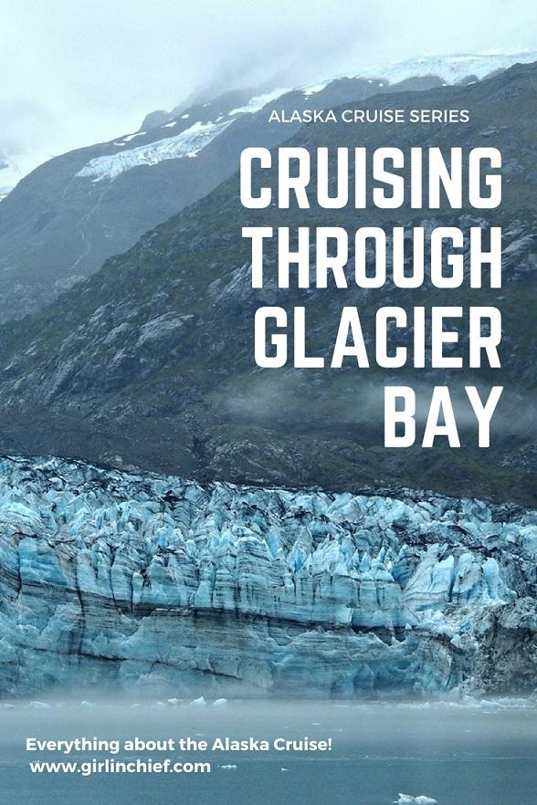 Alaska Cruise: Cruising Through Glacier Bay #alaska #alaskacruise #glacierbay #margerieglacier #glacierbayalaska